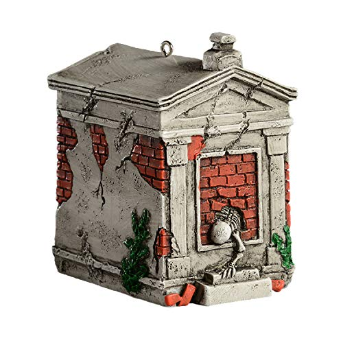 HorrorNaments NOLA Crypt Horror Ornament - Scary Prop and Decoration for Halloween, Christmas, Parties and Events]()