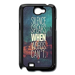Galaxy Note 2 Cases Slice Speaks Design Hard Back Cover Cases Desgined By RRG2G