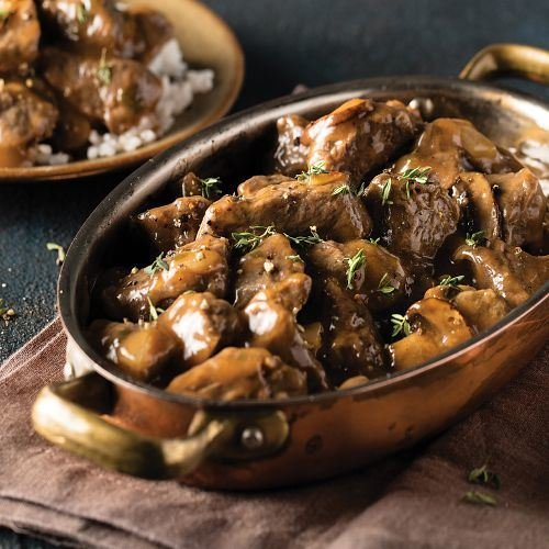 Omaha Steaks 2 (18 oz. pkgs.) Sirloin Tips with Mushroom & Red Wine Sauce