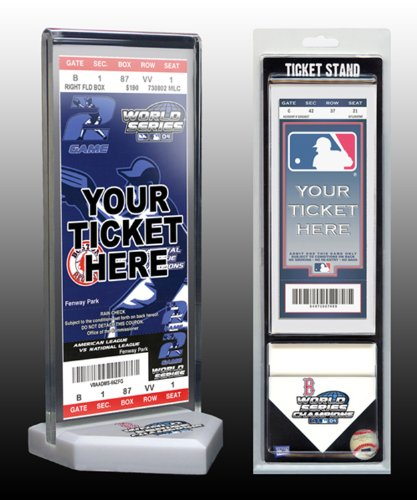 MLB Boston Red Sox Home Plate Ticket Stand, Small, - Memorabilia Mlb