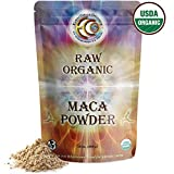 Earth Circle Organics Raw Organic Maca Powder, 1 Pound