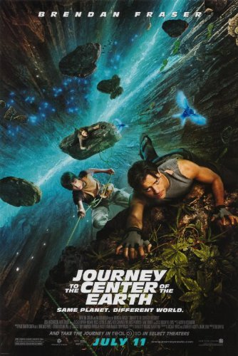 Journey to the Center of the Earth POSTER Movie (27 x 40 Inches - 69cm x 102cm) (2008) (Style B)
