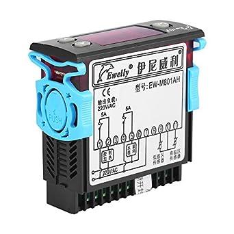 Solar Calentador de agua Sensor de temperatura controlador termostato con pantalla digital