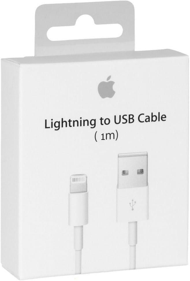 Cable Original Apple MD818 cable lightning hacia USB Cargador de origen para iPhone 7/7 Más, 6/6 Plus / 6s / 6s más, iPhone 5 5c 5s, iPad Mini, iPad Aire, iPod a