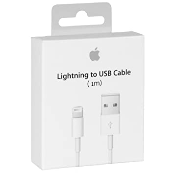 Cable Original Apple MD818 cable lightning hacia USB Cargador de origen para iPhone 7/7 Más, 6/6 Plus / 6s / 6s más, iPhone 5 5c 5s, iPad Mini, iPad ...