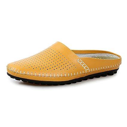 Qiusa zapatos sin Cordones para Hombre con Suela Blanda Blanda Blanda zapatos sin 9db4dd