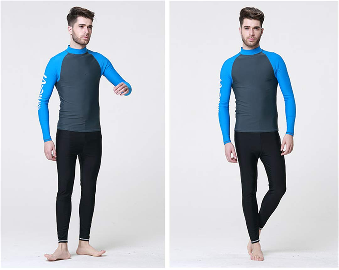Amazon.com: Dive NANVH Adult Long Sleeve Wetsuits Neoprene ...