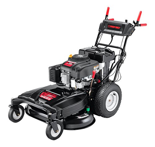 (Troy-Bilt WC33 420cc 33-inch Wide Cut RWD Lawn Mower With Electric Start)