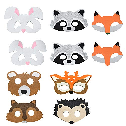 Mask Toys for 3-12 Year Old Boys, TOPTOY Classroom Prizes Cute Animals Masks Party Favors for Kids Birthday Present for 3-12 Year Old Boys Toys for 3-12 Year Old Party Supplies MZ02 -