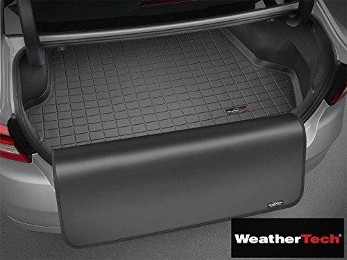 Cargo Liner Mat w/Bumper Protector Cocoa - Fits BMW X5-2007 2008 2009 2010 2011 2012 2013 2014 2015 2016 2017 | 07 08 09 10 11 12 13 14 15 16 17 (WEA-PBD-916)