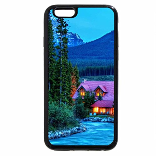 iPhone 6S / iPhone 6 Case (Black) Mountain resort