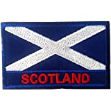 """Backwoods Barnaby International Flag Tactical Patch with Velcro by (2"""" x 3"""")"""