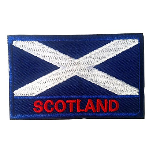 National Flag Patch with Velcro / International Travel Patches by Backwoods Barnaby
