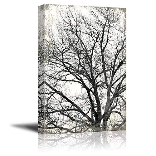 Tree on Rustic Background
