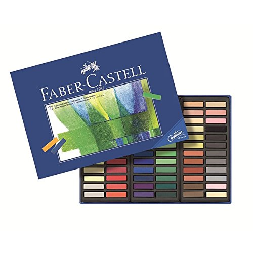 Faber Castell Set of 72 Half Stick Pastels by Faber-Castell