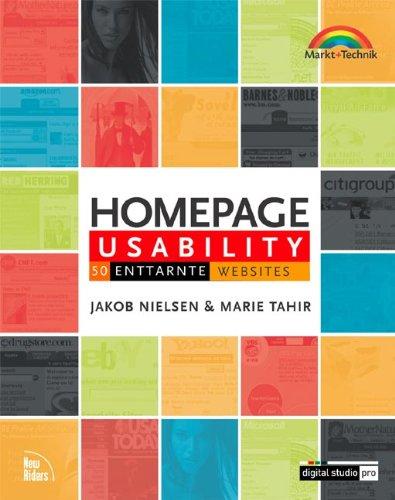 Homepage Usability. 50 enttarnte Websites