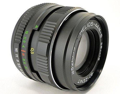 !!NEW!! HELIOS 44m-6 2/58 Russian USSR Lens M42 Screw Mount Canon EOS EF Mount 100 70 80 6 D 7D 5D MARK II III