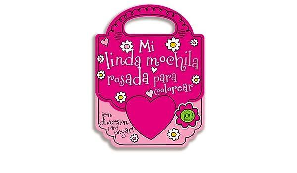 Mi linda bolsa rosada para colorear (Spanish Edition ...