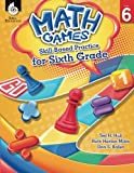 img - for Math Games: Skill-Based Practice for Sixth Grade book / textbook / text book