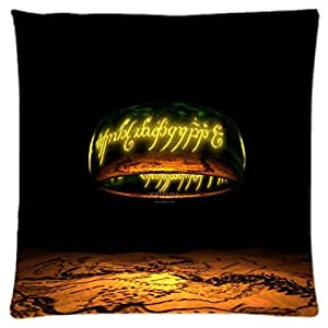Lord Of The Rings ~ Durable Unique Throw Square Pillow Case 18X18 inches Fashionable Diy Custom Personalized Pillowcase Design by Engood