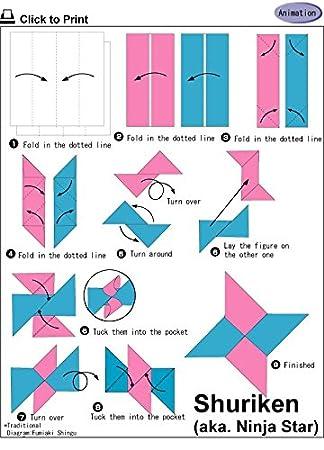 El Museo de salida de gráficos de - Origami Shuriken B - A3 ...
