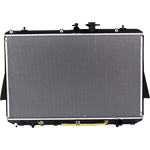 New Radiator For 2008-2013 Toyota Highlander, 3.5 Liter V6, Without Towing Package, Plastic and Aluminum TO3010319 1604131540