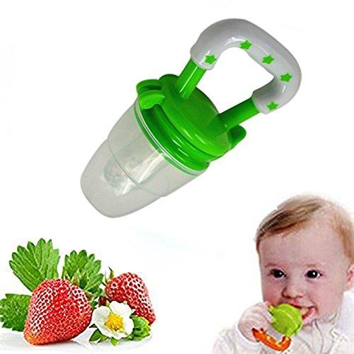 Silicone Baby Feeder Feeding M (Green) - 3