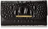 Brahmin SCB Checkbook Case, Black/ Melbourne,  One Size