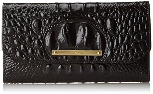 Brahmin SCB Checkbook Case, Black/ Melbourne,  One Size by Brahmin