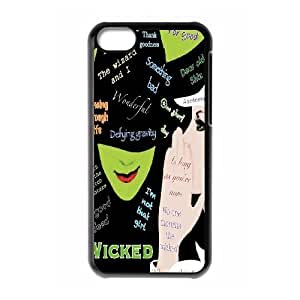 JamesBagg Phone case Musical Wiched Protective Case For Iphone 5c Style 5