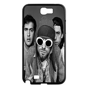 Samsung Galaxy Note 2 Case Nirvana Glasses, Nirvana Tyquin, {Black}