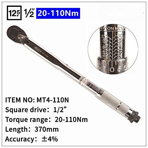 Wrench Tool Adjustable Torque Wrench 1-6N 2-24N 5-25N 5-60N 20-110N 10-150N 28-210N Hand Spanner Car Bicycle Repair Tools 20-110NM