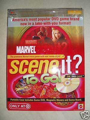 Marvel Scene it? To Go!: The DVD Game