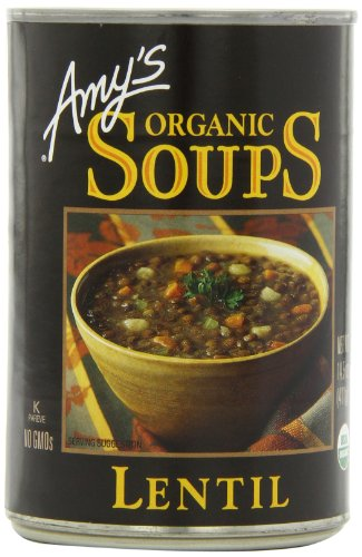 Amy's Organic Lentil Soup, 14.5-Ounce Cans (Pack of 12)
