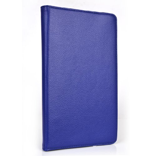 Kroo Flip Folio 360 Case with Kickstand for 2G Nexus 7 Tablet - Blue (MGNNRTB1-6997)