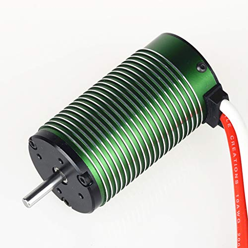 (Inverlee Non-inductive brushless Motor Neu-Castle 1515 1Y, 2200kV 1/8 Brushless Motor for Monster Trucks and 1/8 Scale Off-Road Applications (As Shown))