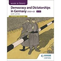 Access to History: Democracy and Dictatorships in Germany 1919-63 for OCR Second Edition