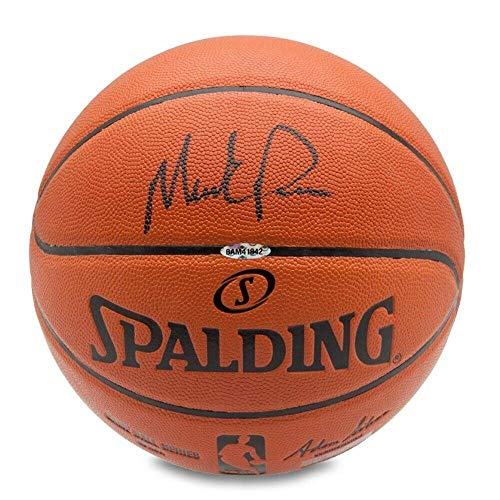 Mark Price Signed Ball - Spalding - Upper Deck Certified - Autographed -