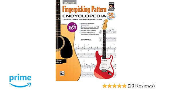 Amazon Fingerpicking Pattern Encyclopedia Book CDROM Adorable Fingerpicking Patterns