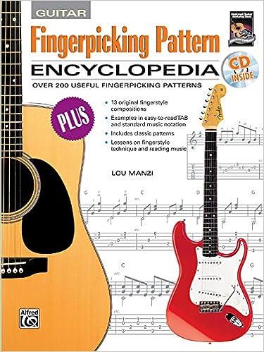 Amazon com: Fingerpicking Pattern Encyclopedia (Book & CD-ROM