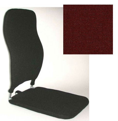 McCarty's Sacro Ease 24/18 Memory Foam Cart Seat Support RED