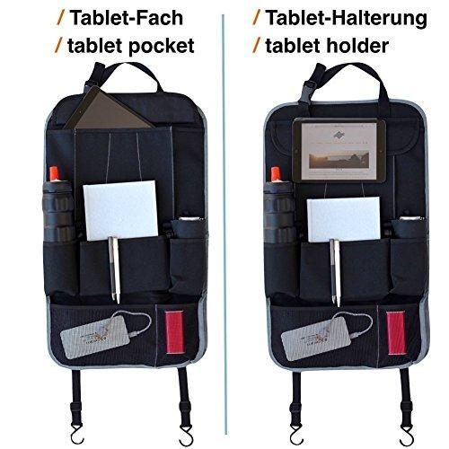 Organisateur de voiture universel si/ège de voiture /étanche organisateur de porte poussi/ère support de tablette