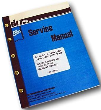 amazon com ih dresser td7e td8e crawler dozer diesel engine service rh amazon com Dresser Parts td8e dozer service manual