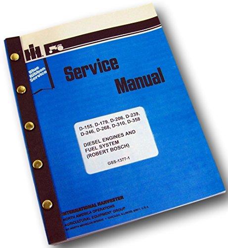 - International Farmall 674 Tractor Diesel Engines Service Repair Shop Manual Pump