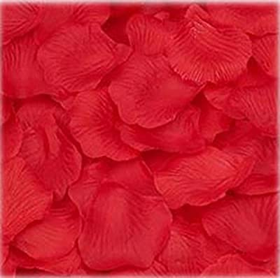 Fabric Multi-Color Silk Flower Mini Rose Petals for Weddings, Party Favor Decoration, Table Confetti Scatter (1000 Pieces) by Super Z Outlet®