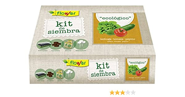 Flower 51178 51178-Kit Semillas ecologico, No Aplica, 38x24.5x9.5 ...