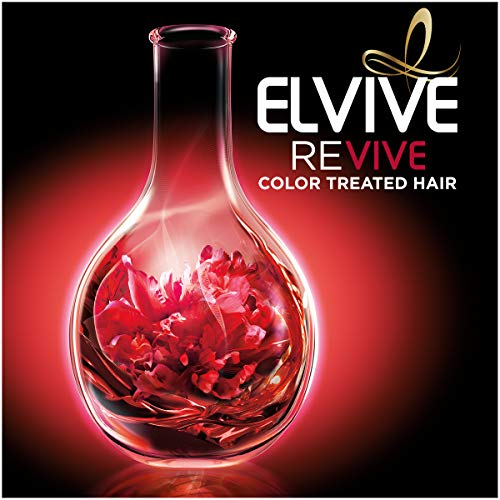 L'Oreal Paris Elvive Color Vibrancy Protecting Shampoo, for Color Treated Hair, Shampoo with Linseed Elixir and Anti-Oxidants, for Anti-Fade, High Shine, and Color Protection, 28 Fl Oz