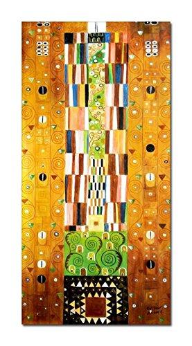 elOleo Ölgemälde 120x60 Bild auf Leinwand Oberflächenschutz glanz 90107AFG