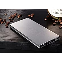 TR.OD Ultrathin 6000Mah External Battery Charger Power Bank Fashionable Portable Perfect Silver