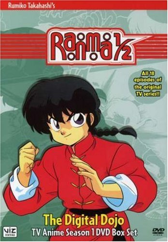 Ranma 1/2: Season 1: The Digital Dojo; TV Anime Season 1 DVD Box Set by Viz Media